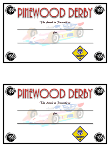 Pinewood Derby Certificate Generic.pdf – Google Drive | Cub inside Pinewood Derby Certificate Template