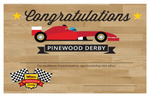 Pinewood Derby Certificate Template – Bizoptimizer within Pinewood Derby Certificate Template