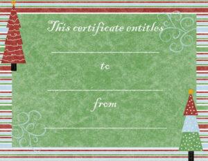 Pinjayni Kingsford On Christmas | Gift Certificate throughout Free Christmas Gift Certificate Templates