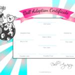 Pinjesse Dudics On Building Bjd Dolls | Adoption In Baby Doll Birth Certificate Template