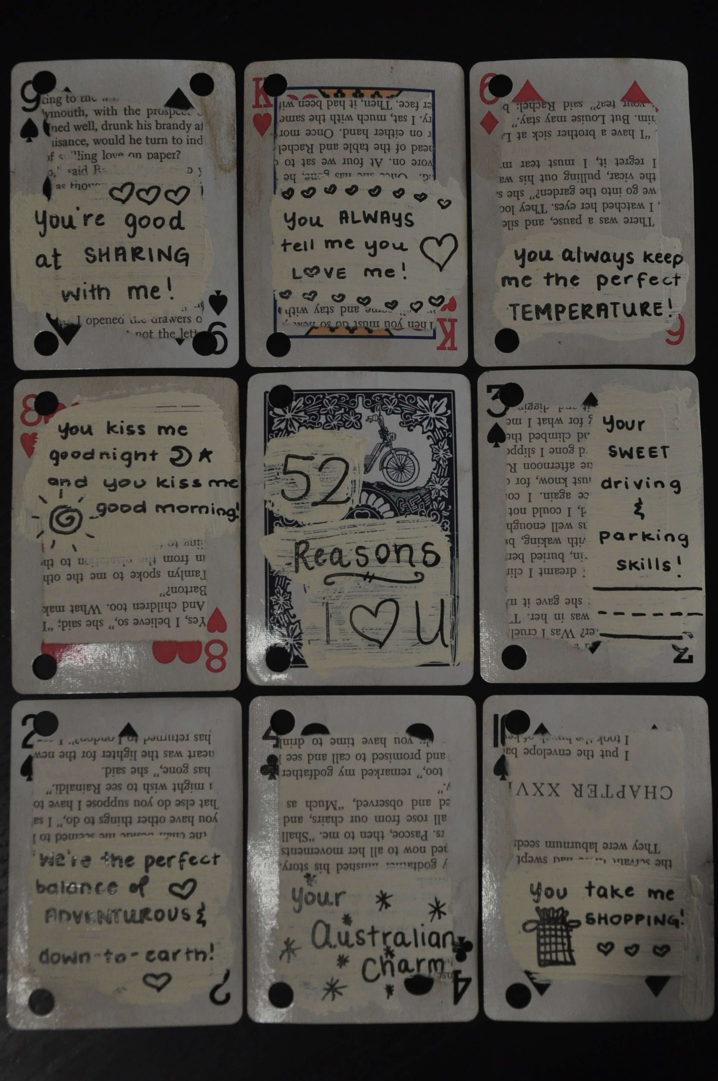Pinjoanna Keysa On Free Tamplate   Reasons I Love You For 52 Reasons Why I Love You Cards Templates