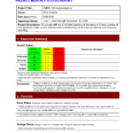 Pinlesedi Matlholwa On Templates | Progress Report Pertaining To Monthly Project Progress Report Template