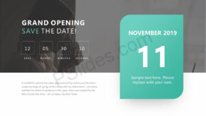 Pinpslides On Powerpoint Diagrams | Save The Date with Save The Date Powerpoint Template