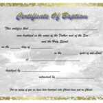 Pinselena Bing-Perry On Certificates | Certificate with regard to Baptism Certificate Template Download