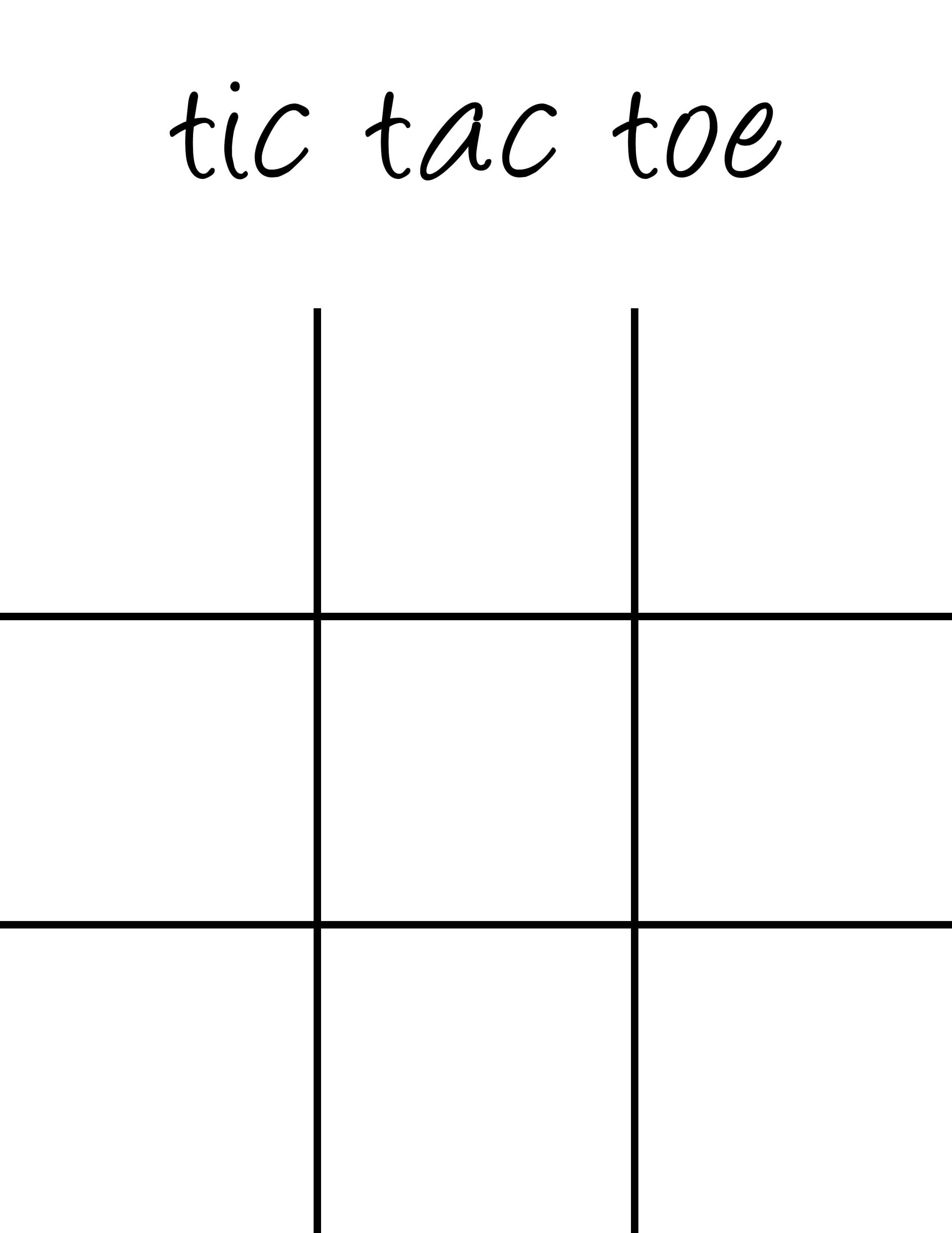 Pinshelley Davila On Kayla's Baby Shower Ideas | Tic Tac In Tic Tac Toe Template Word