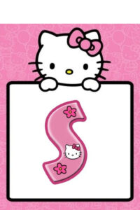 Pinsudeepthi B On Banner Printable | Printable Banner throughout Hello Kitty Banner Template