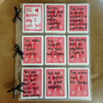 Pinterest regarding 52 Reasons Why I Love You Cards Templates Free