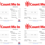 Pinthe Lacoca Shop (By Lacoca, Llc) On Fundraising Ideas Throughout Fundraising Pledge Card Template