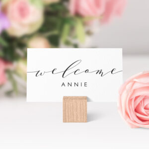 Place Cards Printable Template, Flat And Folded Welcome throughout Place Card Setting Template
