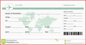 Plane Ticket Template Seven Secrets You Will Not Want To throughout Plane Ticket Template Word