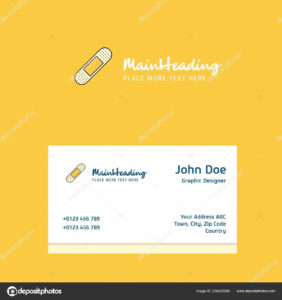 Plaster Logo Design Business Card Template Elegant Corporate in Plastering Business Cards Templates