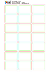 Playing Cards : Formatting & Templates – Print & Play regarding Baseball Card Size Template