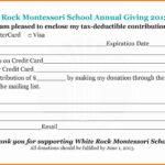 Pledge Card Template Word   Template Modern Design Regarding Fundraising Pledge Card Template