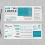 Pledge Cards & Commitment Cards | Church Campaign Design Intended For Pledge Card Template For Church