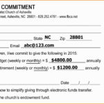 Pledge Cards Template Free Card Donation Excel Templates For Regarding Pledge Card Template For Church