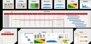 Pmo Reports For Project And Portfolio Management (Requirements) for Portfolio Management Reporting Templates