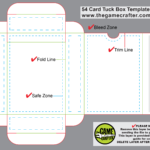 Poker Tuck Box (54 Cards) pertaining to Playing Card Template Illustrator