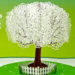 Pop Up Apple Tree Card Tutorial (3D Sliceform On The Cricut) In Diy Pop Up Cards Templates
