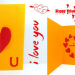 Pop Up Valentine Cards | Pop Up Card Templates | Love Pop Greeting Cards  #lina's Craft Club Inside I Love You Pop Up Card Template