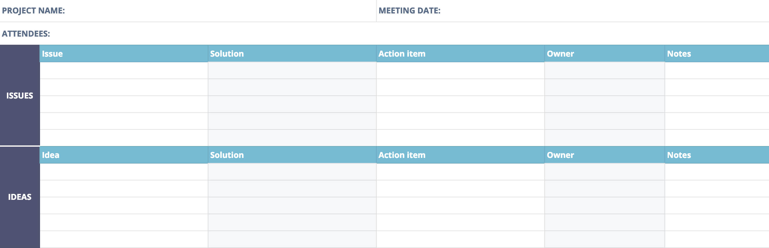 Post Mortem Meeting Template And Tips | Teamgantt Pertaining To It Issue Report Template