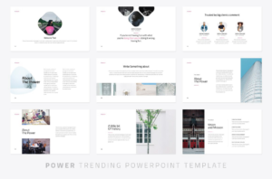 Power Modern Powerpoint Template – Just Free Slides with Fun Powerpoint Templates Free Download