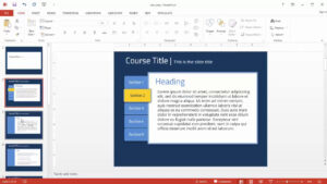 Powerpoint: How To Transform This Free Template From Realistic To  Flat Tastic Regarding Powerpoint Replace Template