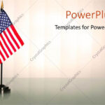 Powerpoint Template: An American Flag With White Background Throughout American Flag Powerpoint Template