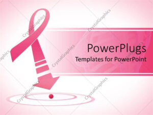 Powerpoint Template: Breast Cancer Awareness Pink Ribbon inside Breast Cancer Powerpoint Template