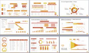 Powerpoint Template To Report Metrics, Kpis, And Project for Monthly Report Template Ppt