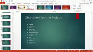 Powerpoint Tutorial: How To Change Templates And Themes | Lynda throughout Powerpoint 2013 Template Location