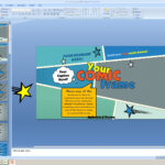 Powerpoint: Your Comic Frame Presentation Template Intended For Powerpoint Comic Template