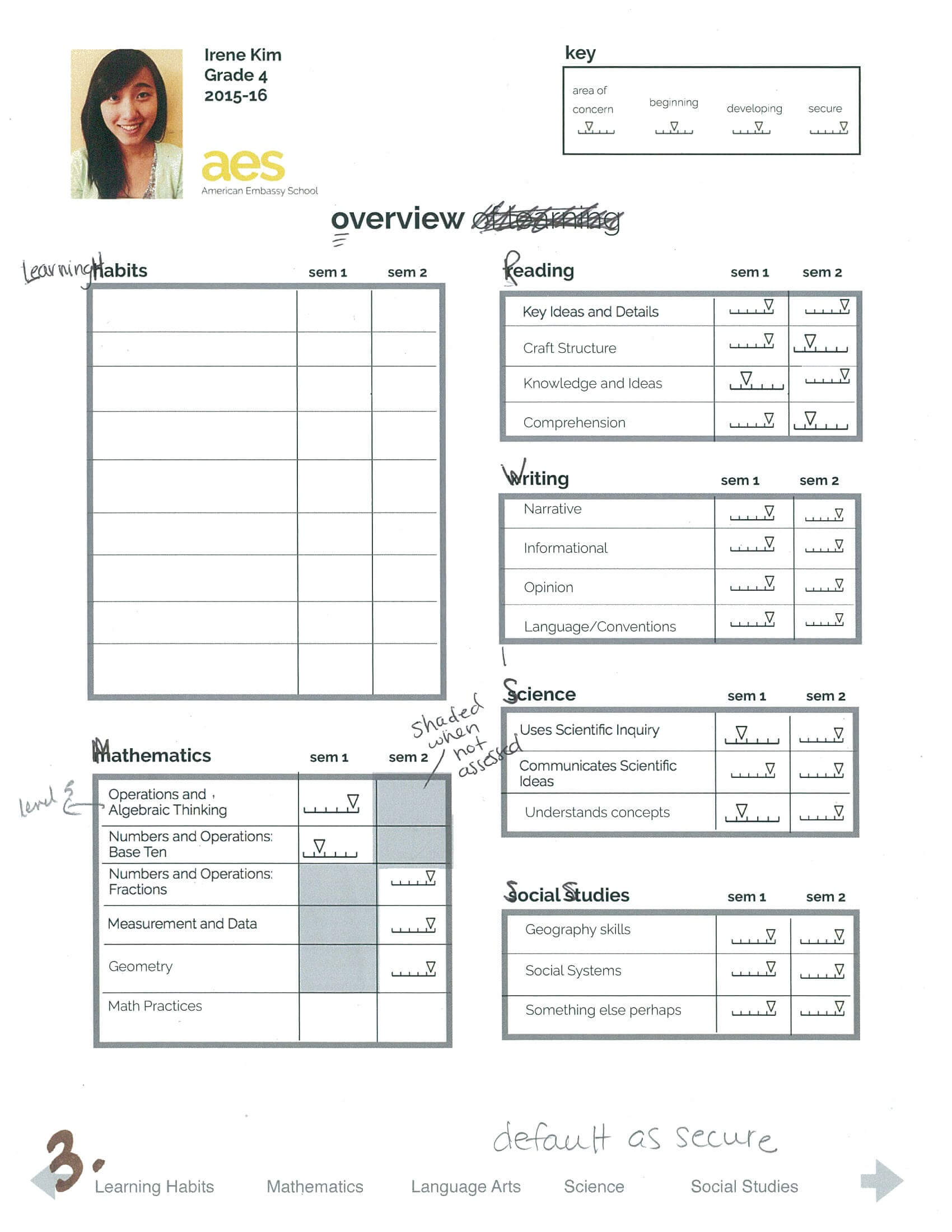 Powerschool Report Cards | Technology As I Experience It… Intended For Powerschool Reports Templates
