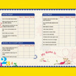 Pre Nursery Report Card On Behance | Report Card Ideas In Character Report Card Template