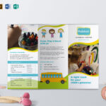 Pre School Brochure Template in Play School Brochure Templates
