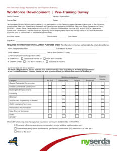 Pre Training Survey Template – Www.hpcr.tk in Training Evaluation Report Template