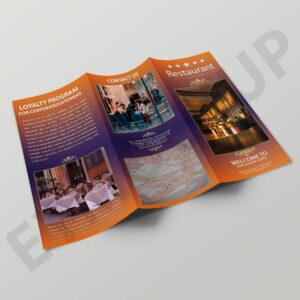Premium Hotel Tri-Fold Brochure Template   Eymockup for Zoo Brochure Template