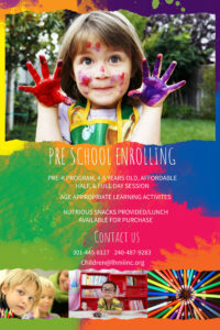 Preschool Enrollment Colorful Poster/flyer Template | School inside Play School Brochure Templates
