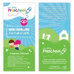 Preschool Flyer Template 06 | Chakra Posters, Flyers For Play School Brochure Templates