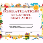 Preschool Graduation Certificate Template Free Intended For Classroom Certificates Templates
