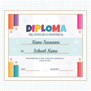 Preschool Graduation Certificate Templates Free Download with regard to Preschool Graduation Certificate Template Free