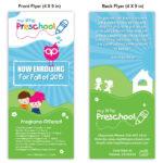 Preschool Poster Template Design | Playschool | School With Play School Brochure Templates