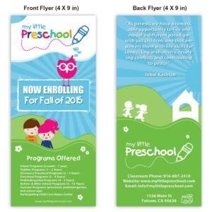 Preschool Poster Template Design | Playschool | School with Play School Brochure Templates