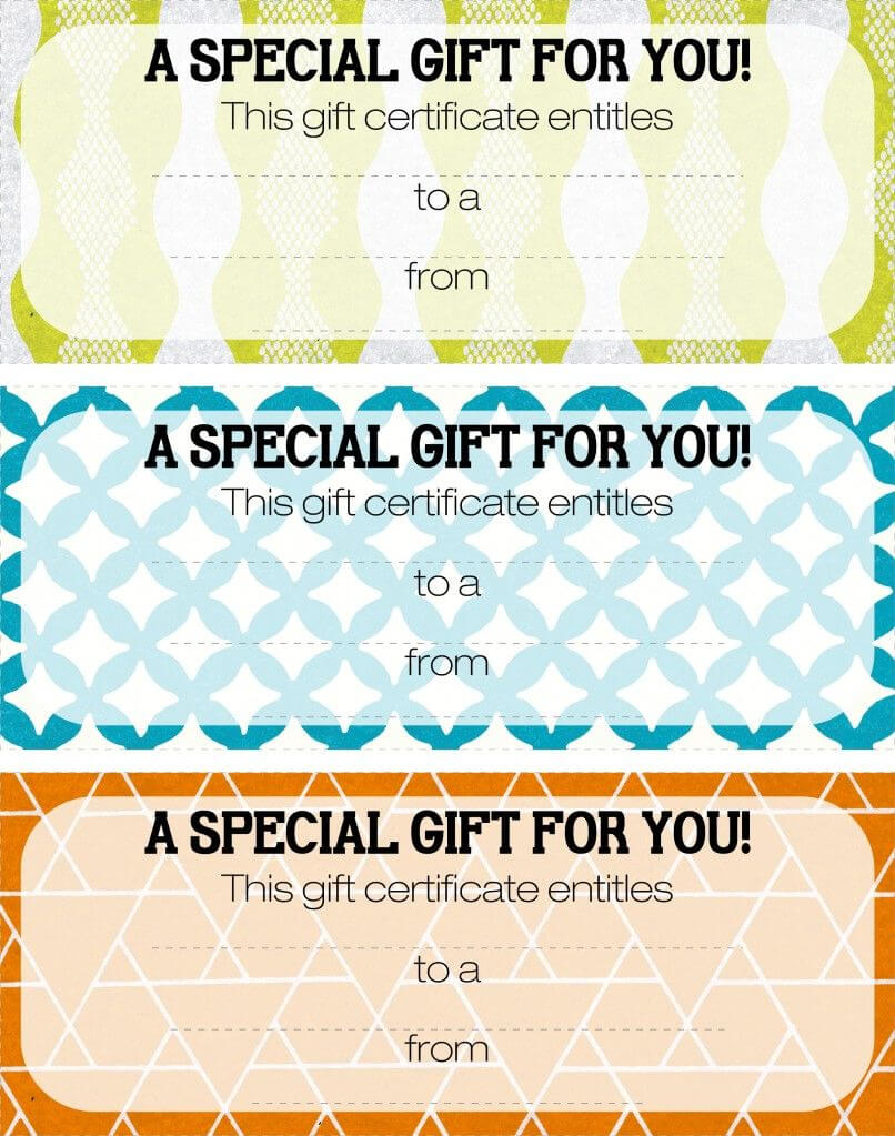 Pretty Printable Coupons. Give This To Let Them Know They Pertaining To Magazine Subscription Gift Certificate Template