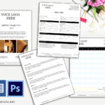 Price Sheet , Cover Page, Order Form Id12 Intended For Product Line Card Template Word