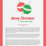 Print And Win Holiday Sweepstakes | Free Personal Templates Regarding Holiday Card Email Template