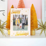Print Your Own Holiday Cards (Free Template Included!) – A Throughout Print Your Own Christmas Cards Templates