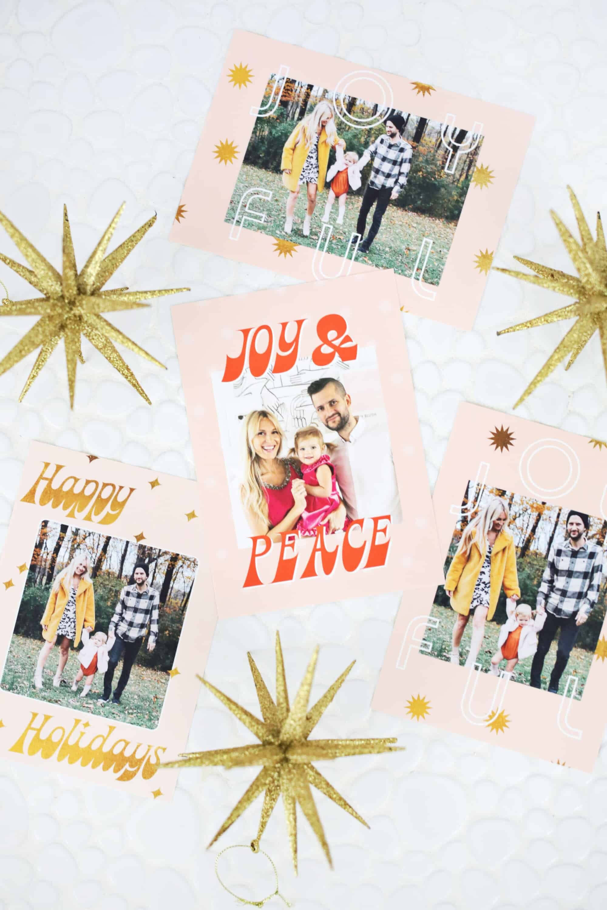 Print Your Own Holiday Cards (Free Template Included | Free Intended For Print Your Own Christmas Cards Templates