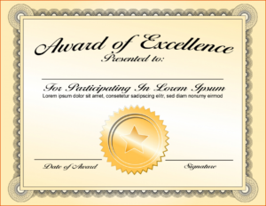 Printable 027 Certificate Of Achievement Template Word within Army Certificate Of Achievement Template