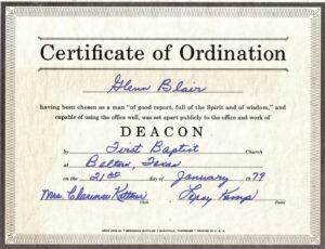 Printable 27 Images Of Free Printable Ordination Certificate within Free Ordination Certificate Template