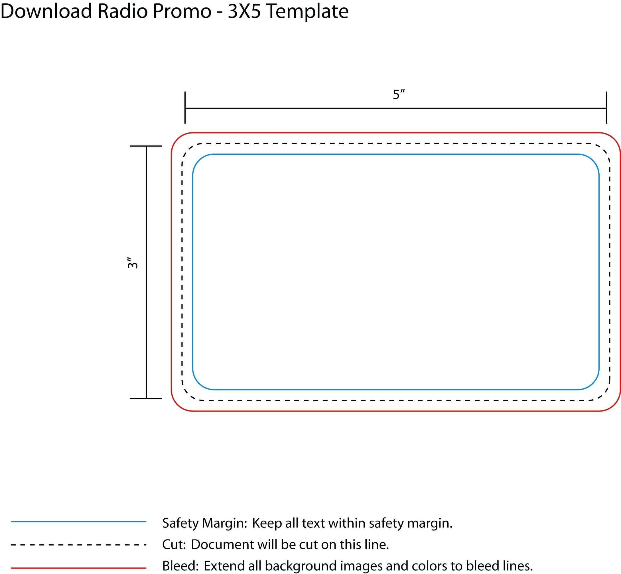 Printable 4X6 Index Card Template Templates Free Note Intended For 3X5 Note Card Template